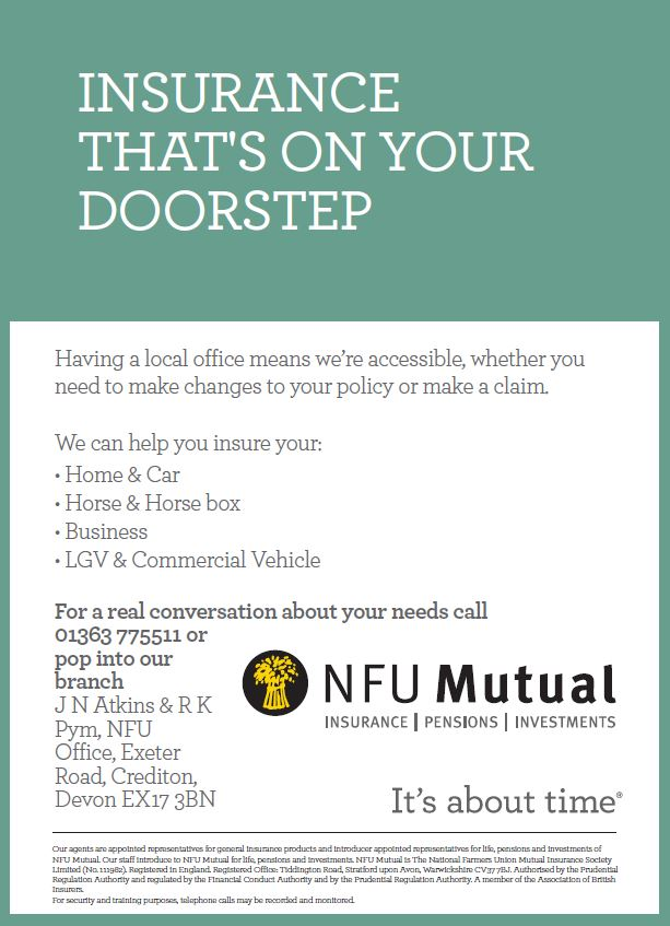 NFU ADVERT