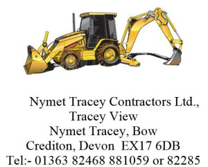 Nymet tracey contractors with address