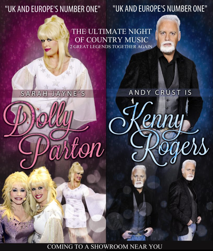 dolly and kenny poster high res
