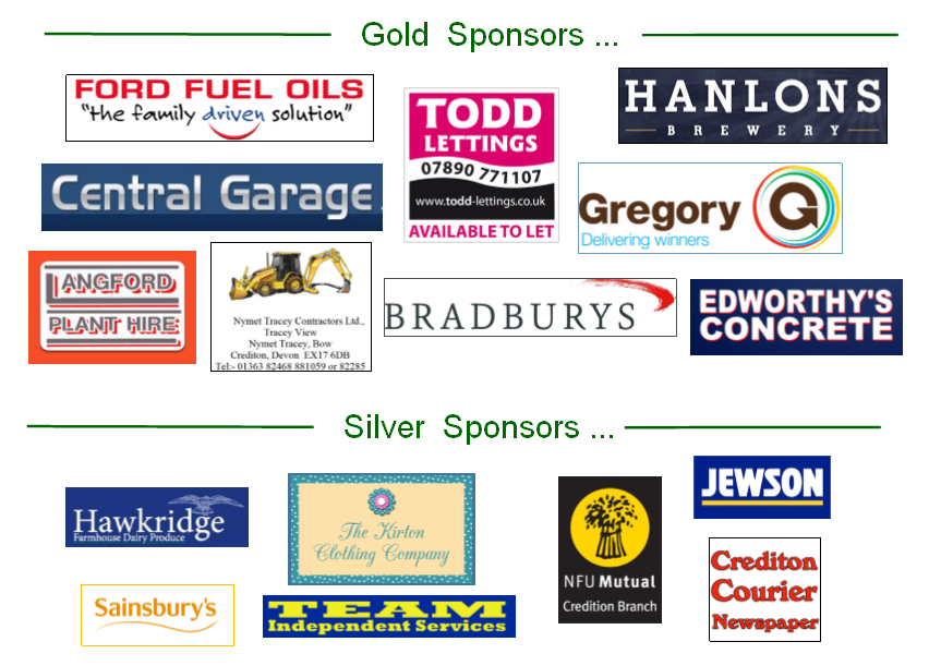 Silver and Gold sponsors